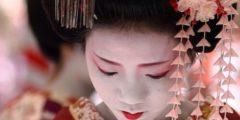 Элегантность японских причесок