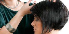 Короткая стрижка для квадратного типа лица