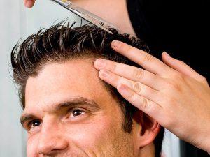 Укладка волос гелем для мужчин