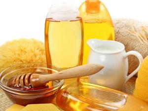 Мед для приготовления полезной маски для волос