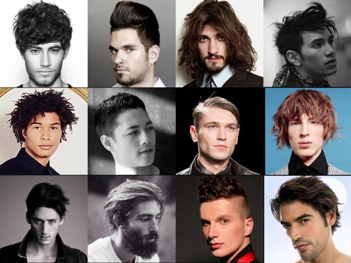 Мужские стрижки  года модные тенденции фото