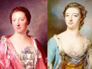 Короткие прически 18 века