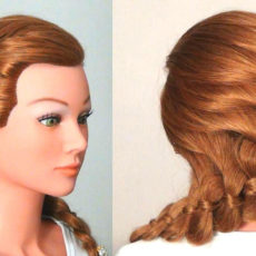 Косы из длинных волос