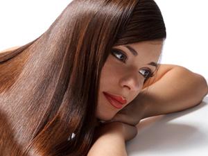 Красивые волосы с блеском