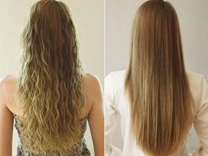 Ламинирование вьющихся волос