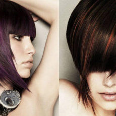 Модный цвет волос на короткие стрижки