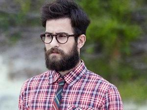 Мужские прически под бороду