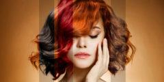 Покраска волос в домашних условиях