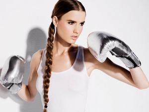 Прическа для фитнеса