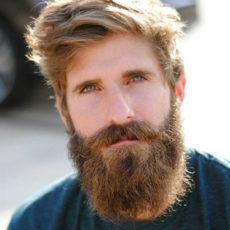 Прически для бороды