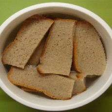 Ржаной хлеб для мытья волос
