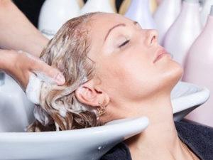 Смывка шампуня