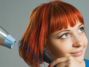 Классическое выпрямление волос в каре