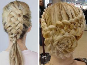 Виды плетений кос