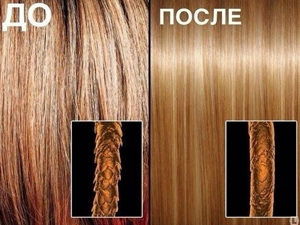 Воздействие ботокса на волосы