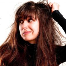 Выпадение волос из-за нервов