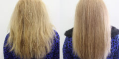 Выпрямление волос