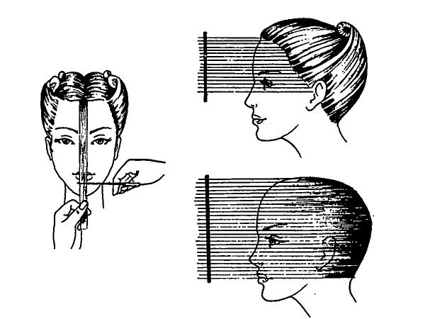Стрижка лесенка схема как стричь волосы