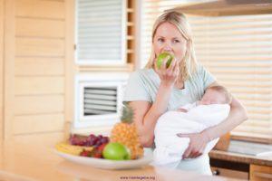 Питание мам при грудном вскармливании