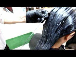 Выпрямление волос химическими средствами