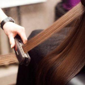 Вред выпрямления волос