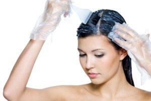 Перчатки для покраски волос