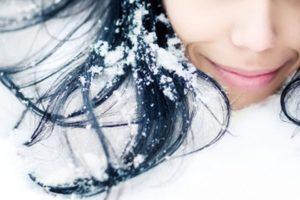 Волосы на холоде