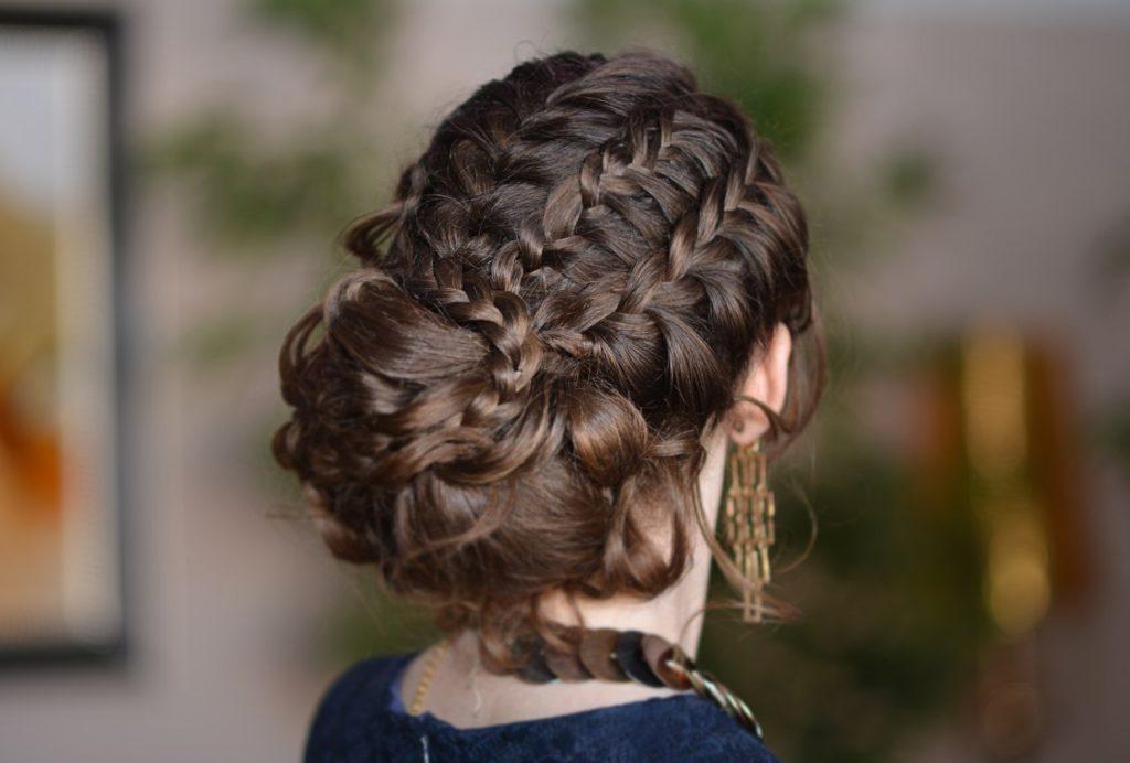 коса и элегантность