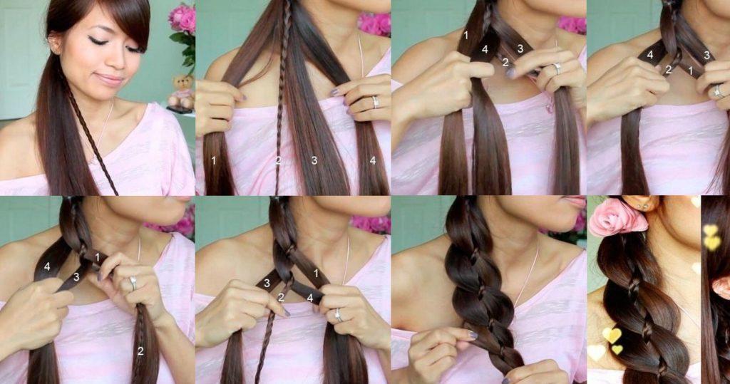 хвост полюс коса