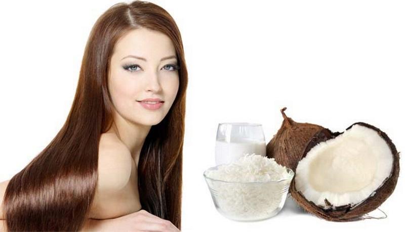 Масло кокоса в помощь волосам