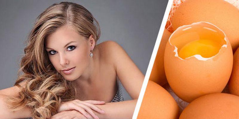Яичные обертывания для волос