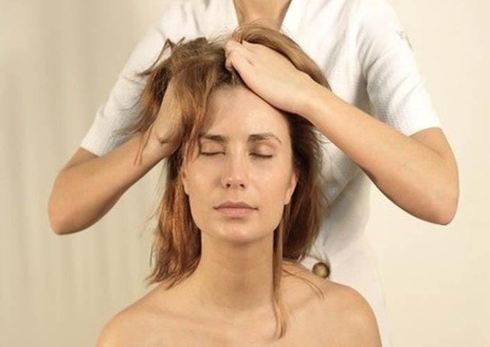 Процедура лечения волос