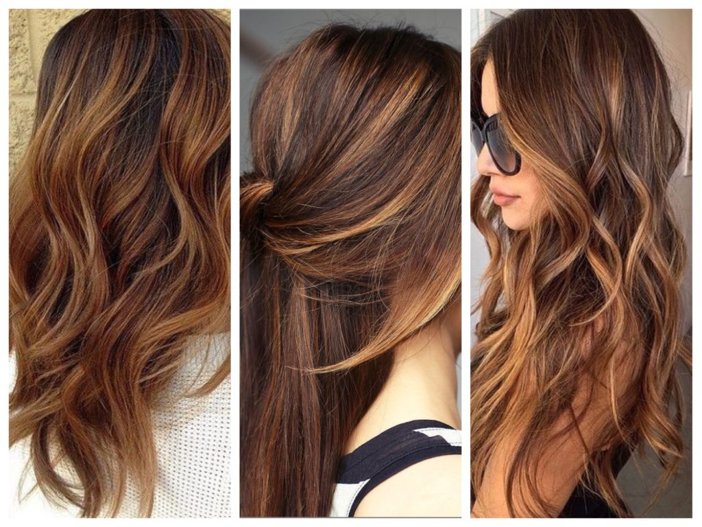 Балаяж окрашивание длинных волос