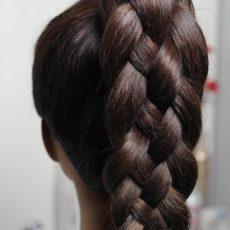 Схема коса из 5 прядей