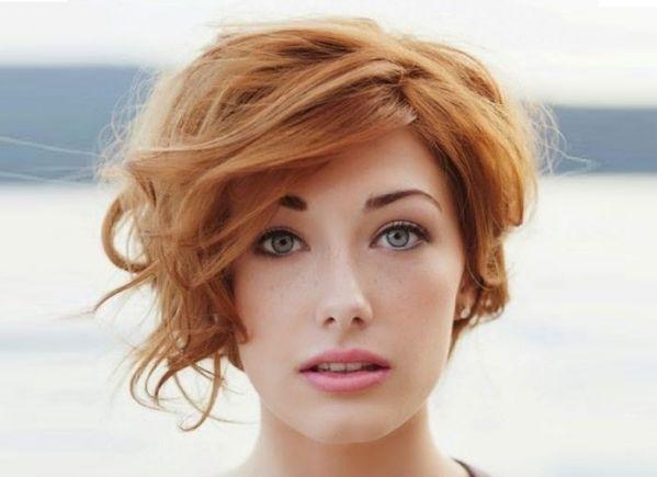 Пикси на вьющиеся волосы